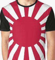 Japan Ensign Flag Graphic T-Shirt