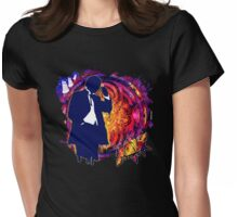 01 DW Banksy Womens Fitted T-Shirt