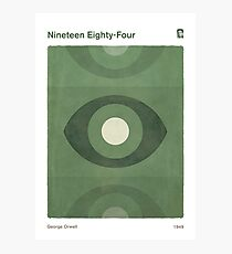 Nineteen Eighty-Four - George Orwell Photographic Print