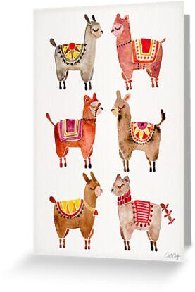 Alpakas von Cat Coquillette