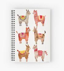 Alpacas Spiral Notebook