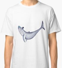 Classy Mr. Whale (in a Top Hat) Classic T-Shirt