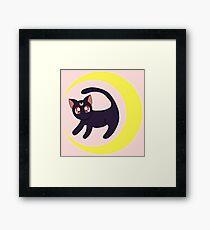 The Luna Queen Framed Print
