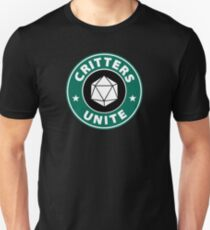 Critters Unite! - Critical Role Fan Design T-Shirt
