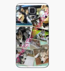 Gone To The Snow Dogs Collage Case/Skin for Samsung Galaxy