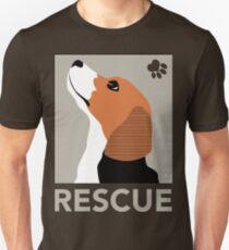 Rescue (Beagle) Slim Fit T-Shirt