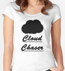 Cloud Chaser Women's Fitted Scoop T-Shirt