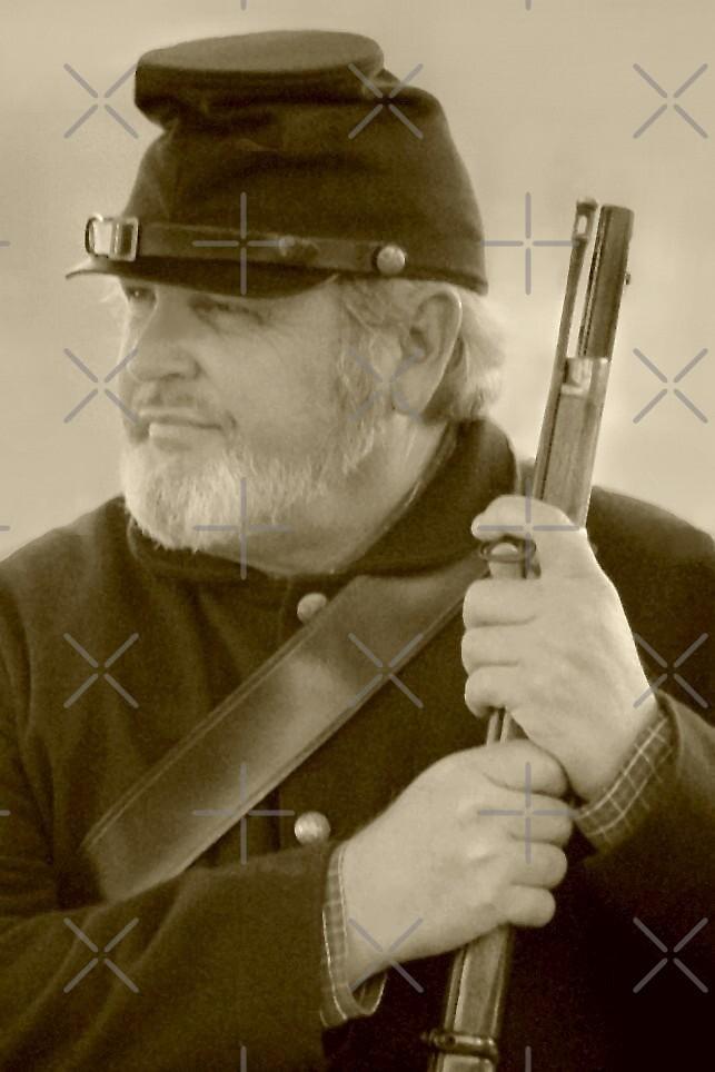 Civil War Reenactor by Julie's Camera Creations <><