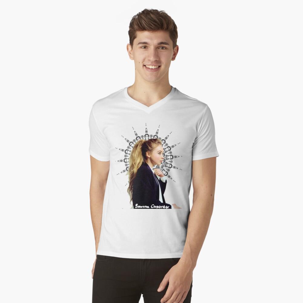 Sabrina Carpenter V-Neck T-Shirt