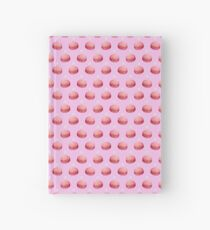 Watercolor Macarons & Pearls Hardcover Journal