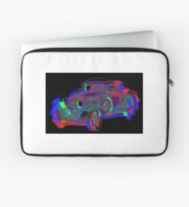 Neon 1930 Cadillac Laptop Sleeve