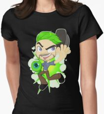Jacksepticeye Women's Fitted T-Shirt
