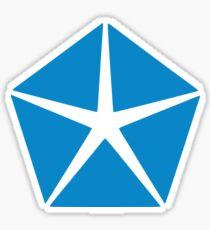 Chrysler Corporation Pentastar Sticker