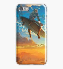 Tranquil Surfer iPhone Case/Skin