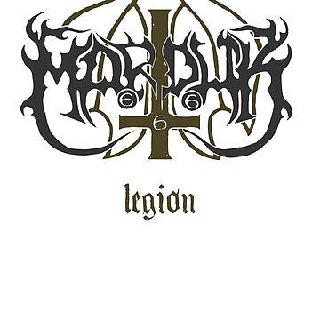 Marduk - Legion - Logo by michaelhavart