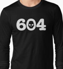 604 Skull Long Sleeve T-Shirt