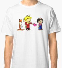 Calvin Hobbes Love Classic T-Shirt