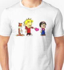 Calvin Hobbes Love Unisex T-Shirt