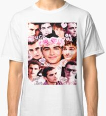 Camiseta clásica Dave Franco Pink Collage