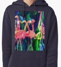 Flamingo Dance Pullover Hoodie
