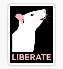 Liberate (Rat) Sticker