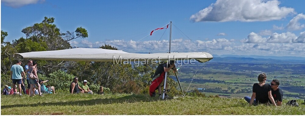 Waiting his turn, Mt Tamborine, Qld, Australia - Panorama by Margaret  Hyde