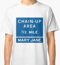 Chain Up! - Winter Park/Mary Jane Classic T-Shirt