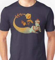 Flower Devi Green Goddess Unisex T-Shirt