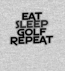 Eat Sleep Golf Repeat Kids Pullover Hoodie