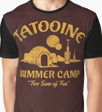 Tatooine Summer Camp Graphic T-Shirt