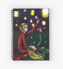 PewDieCry: Lanterns Spiral Notebook