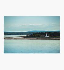 Nova Scotia Lighthouse Oceanscape and Landscape Photographic Print