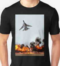 F111 with Fire, Adelaide Air Show  T-Shirt