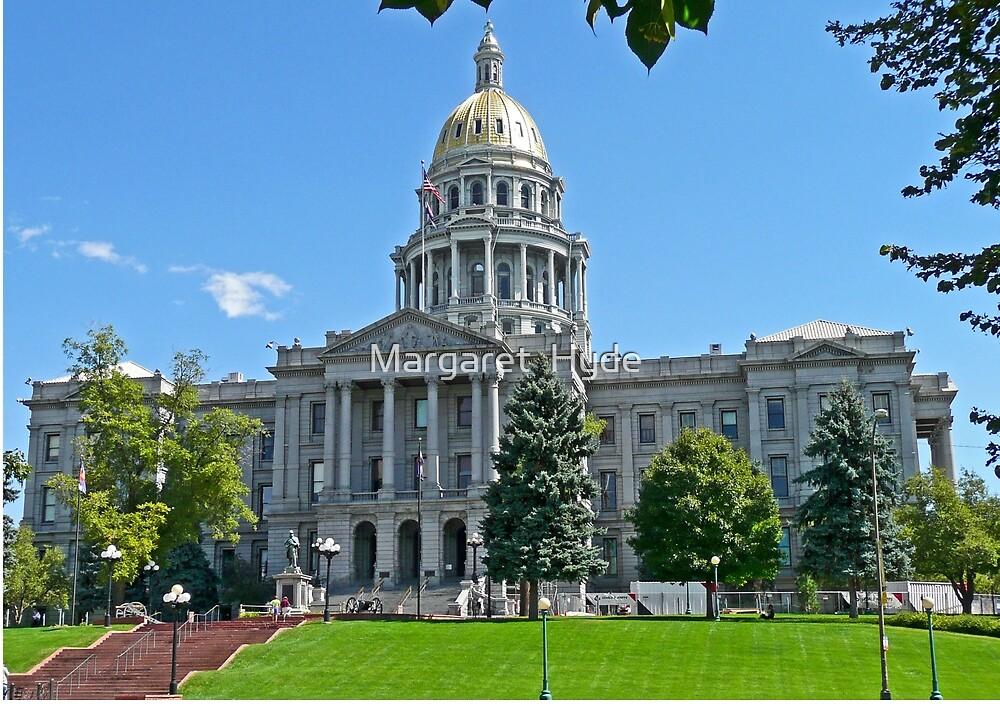 Capitol Building, Denver, Colorado, USA by Margaret  Hyde