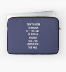 Fandom Life Laptop Sleeve