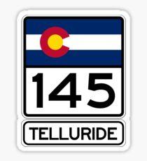 Telluride - Colorado's Gem - Highway 145 Sticker