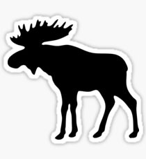 The Moose Sticker