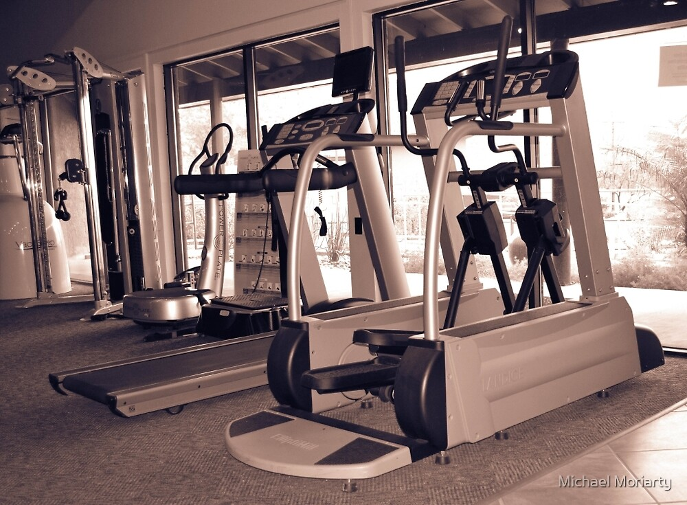 Treadmill Gym by Michael Moriarty
