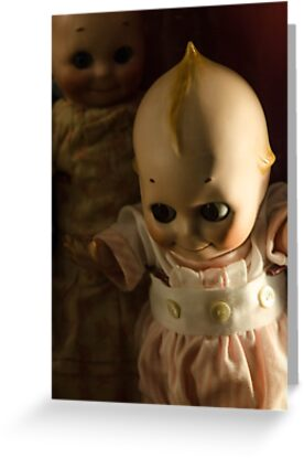 Creepy Cutie Pie Doll Image by Michael Moriarty
