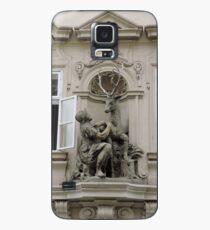 The golden Stag, Prague, Czech Republic Case/Skin for Samsung Galaxy