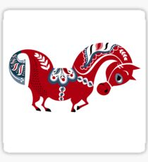 Dala horse  Sticker