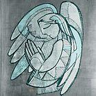 Guardian angel illustration by Bernardo Ramonfaur