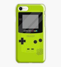 Gameboy Color - Green iPhone Case/Skin