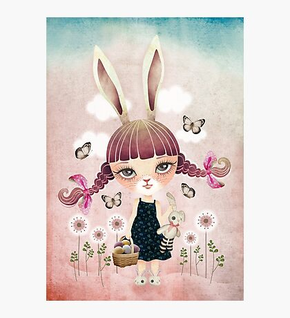 Sugar Bunny Photographic Print