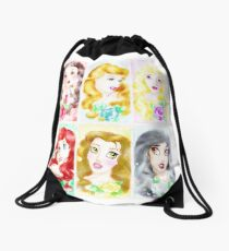 Rose Garden Drawstring Bag