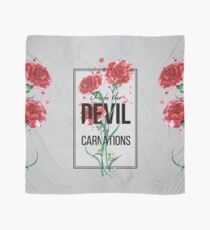 The Devil in Carnations Scarf