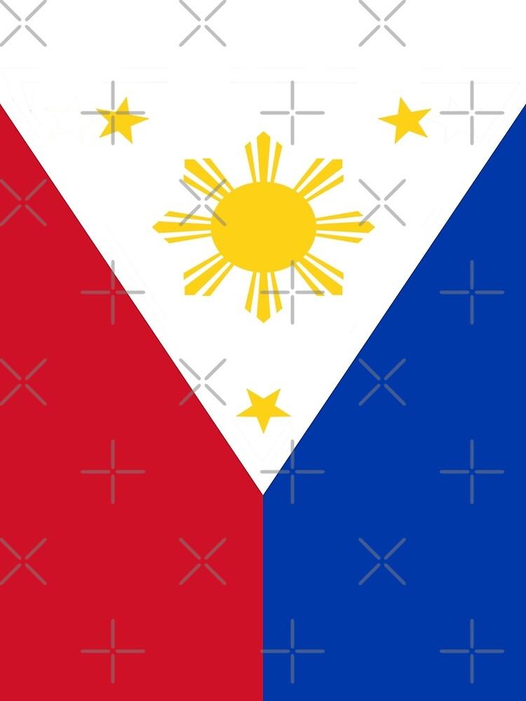 Philippinen Flagge von stoopiditees