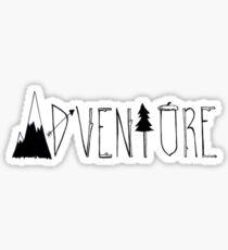 Abenteuer Sticker