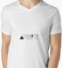 Aventuras Camiseta para hombre de cuello en v