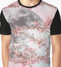 Spring Moon Graphic T-Shirt